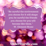 """Be careful the environment you choose"