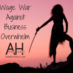 WAGE WAR AGAINST BUSINESS OVERWHELM