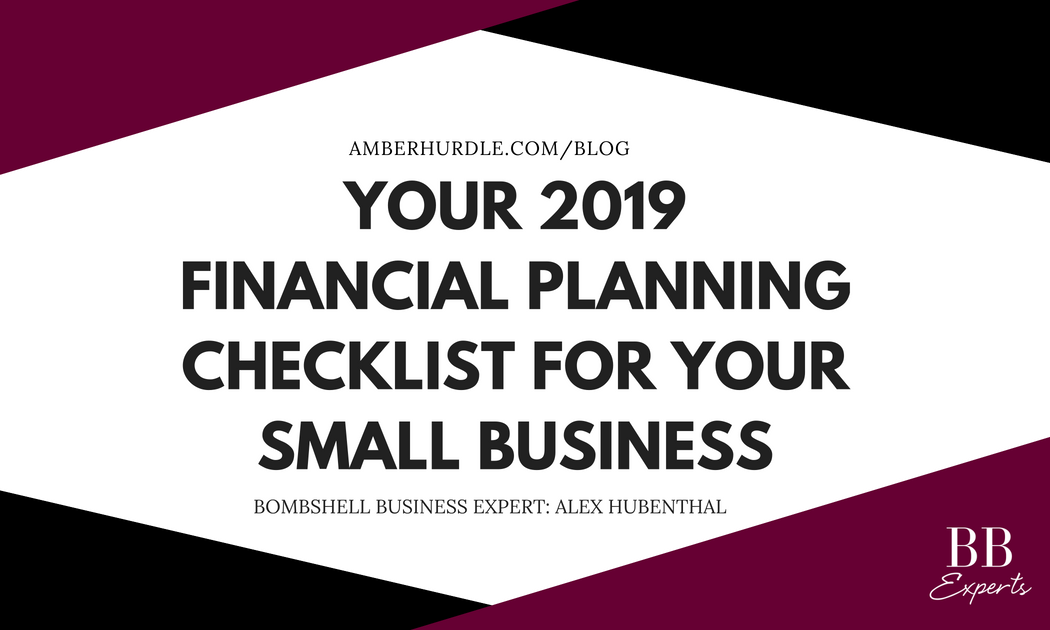 your 2019 financial planning checklist for your small business